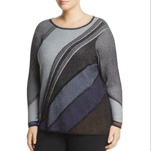 NWT NIC+ZOE Blue Horizon Lightweight Sweater